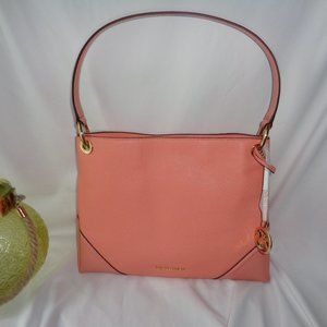 Michael Kors Nicole Medium Shoulder Bag Peach